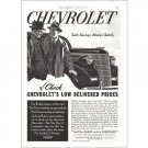 1938 Chevrolet Automobile Vintage Print Car Ad - Low Delivered Prices