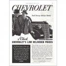 1938 Chevrolet Automobile Vintage Print Car Ad - Low Delivered Prices