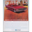 1964 Chrysler 300 2 Door Hardtop Automobile Color Print Car Ad