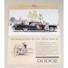 1959 Dodge Custom Royal Automobile Color Print Car Ad