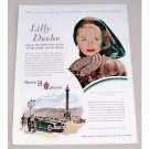 1947 Kaiser Frazer Automobile Art Color Print Car Ad - Lilly Dache