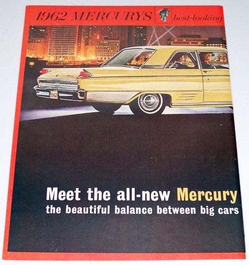 1961 Color 2 Page Car Ad for 1962 Mercury Meteor Automobile