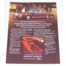 1979 Mercury Marquis Automobile Color Print Car Ad