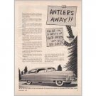 1950 Nash Airflyte Ed Zern Art Series #21 Automobile Vintage Print Car Ad