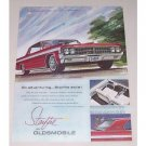 1963 Oldsmobile Starfire Automobile Color Print Car Ad