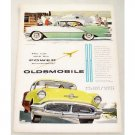 1956 Oldsmobile Super 88 Holiday Sedan Automobile Color Print Car Ad