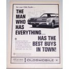 1966 Oldsmobile Toronado Automobile Vintage Print Car Ad