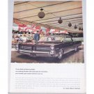 1964 Pontiac Bonneville Automobile Color Print Car Ad