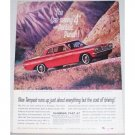 1962 Pontiac Tempest Coupe Car Automobile Color Print Car Ad - Gas Saving 4