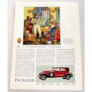 1931 Packard 4DR Sedan Automobile Color Print Car Ad