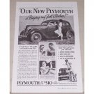 1935 Plymouth Sedan Automobile Vintage Print Car Ad - Buying My Fall Clothes