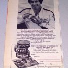 1982 Skoal Copenhagen Happy Days Tobacco Print Ad Celebrity Nascar Driver Harry Gant