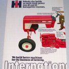 1973 IH INTERNATIONAL HARVESTER 574 Farm Tractor Vintage 2 Page Color Print Ad