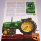 1966 JOHN DEERE 2510 Farm Tractor 2 Page Color Print Ad