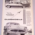 1956 OLDSMOBILE Super 88 Holiday Sedan Automobile Print Car Ad