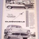 1956 OLDSMOBILE Super 88 Holiday Sedan Automobile Print Car Ad