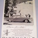 1957 OLDSMOBILE Golden Rocket 88 Holiday Sedan Automobile Print Car Ad