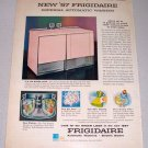 1957 FRIGIDAIRE Imperial Automatic Washer Color Print Ad