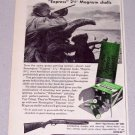 1956 Remington Express Magnum Shotgun Shells Print Ad
