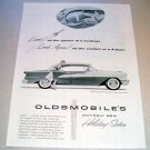 1955 Oldsmobile Super 88 Holiday Sedan Automobile Print Car Ad