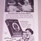 1955 Print Ad Prince Albert Pipe Tobacco Arthur Prather Everett Canada