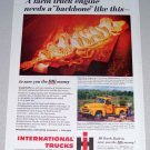 1955 Color Print Ad International Truck Crankshafts