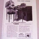 1954 Print Ad Wurlitzer Spinette Organ NBC Today Show Celebrity Dave Garroway