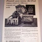 1959 Print Ad John Deere Air-Trol 99 Two Row Self Propelled Picker