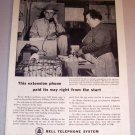 1959 Print Ad Bell Telephone System Henry Mullins Gaffney South Carolina