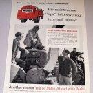 1958 Print Ad Socony Mobile Oil