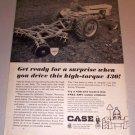 1966 Print Ad Case 430 Farm Tractor