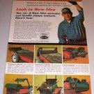 1966 Color Print Ad New Idea Manure Spreader Farm Implement