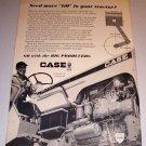 1966 Print Ad Case 830 Farm Tractor