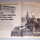 1968 Print Ad Oliver 1850 Farm Tractor