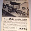 1964 Print Ad Case 430 Farm Tractor and Disk