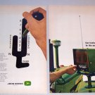 1964 Color Print Ad John Deere Power Shift