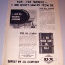 1962 Sunray DX Oil Company Print Ad