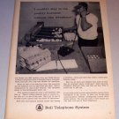 1963 Print Ad Bell Telephone System Jim Braley Douglas County Colorado