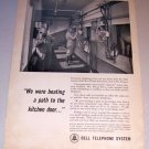 1963 Print Ad Bell Telephone System Milkroom Ross Winan Goble Oregon