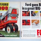 1961 Ford 6000 Diesel Farm Tractor 2 Page Color Print Ad
