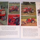 1962 International Harvester Farmall Farm Tractors 2 Page Print Ad