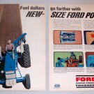 1965 Ford Farm Tractor 2 Page Color Print Ad