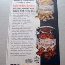 1961 Kathryn Beich Candies Color Print Ad