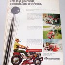 1968 Massey Ferguson Hydra Special 12 Lawn Tractor Color Print Ad