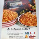 1969 Kraft Macaroni Cheese Color Print Ad