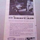 1960 FMC Orbit-Air Lawn Mower Print Ad