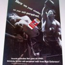1998 Old Spice High Endurance Deodorant Boxing Theme Color Print Ad