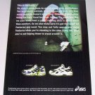 1998 Oasics gel-Marko Gel-Galileo II Shoes Color Print Ad
