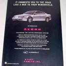 1998 Oldsmobile Alero Automobile Color Print Car Ad