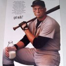 1998 GOT MILK Color Print Ad Celebrity Orioles Baseball Cal Ripkin